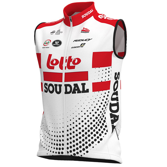 Gilet antivento Lotto - Soudal 2019