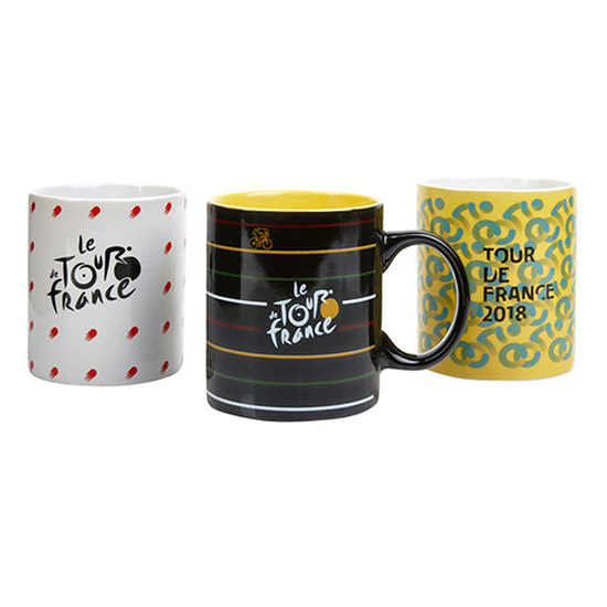 Set da 3 Tazze in Ceramica Tour de France 2018