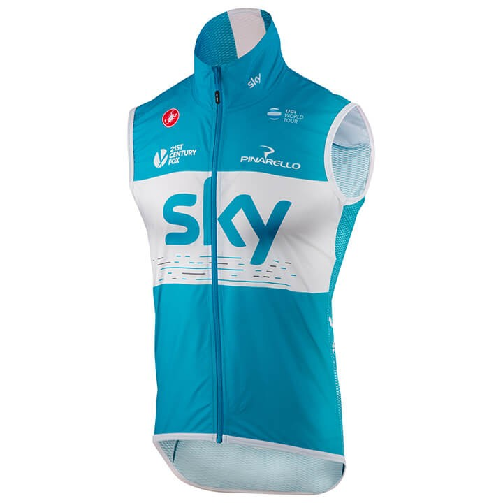 2018 Gilet antivento Team Sky