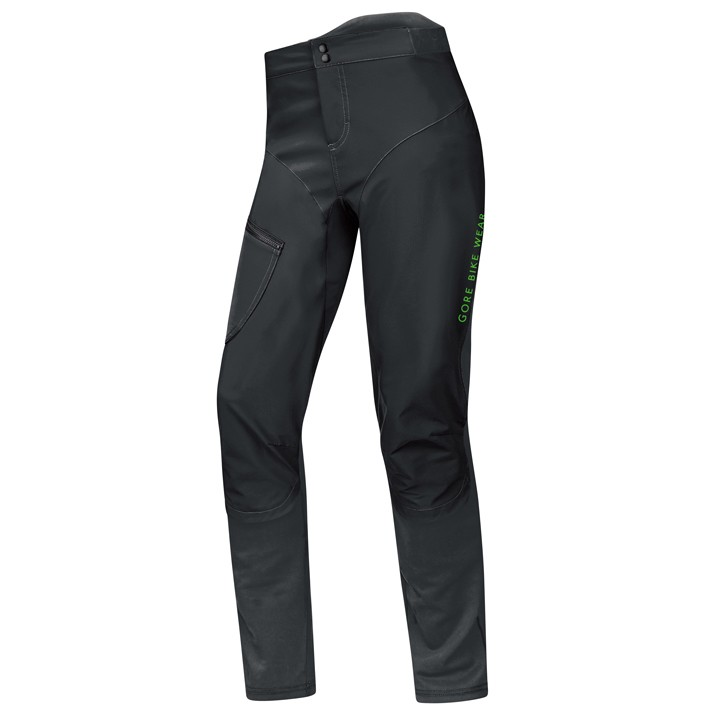 2019 Pantalone lungo bike senza fondello GORE BIKE WEAR Power Trail WS SO 2in1 nero