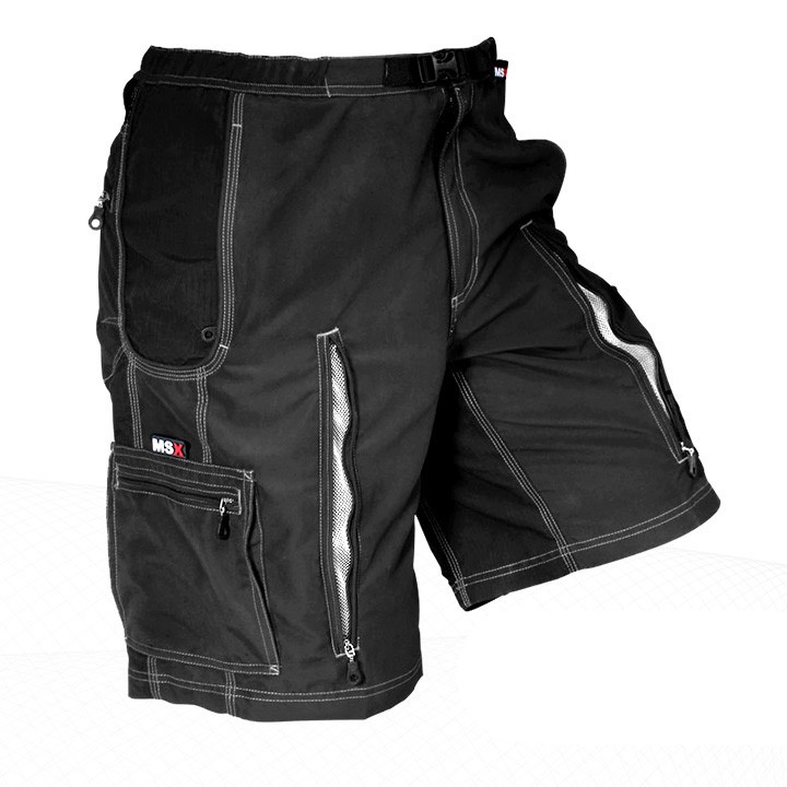 2014 Bikeshort MAINSTREAM Back-Country Removable neri
