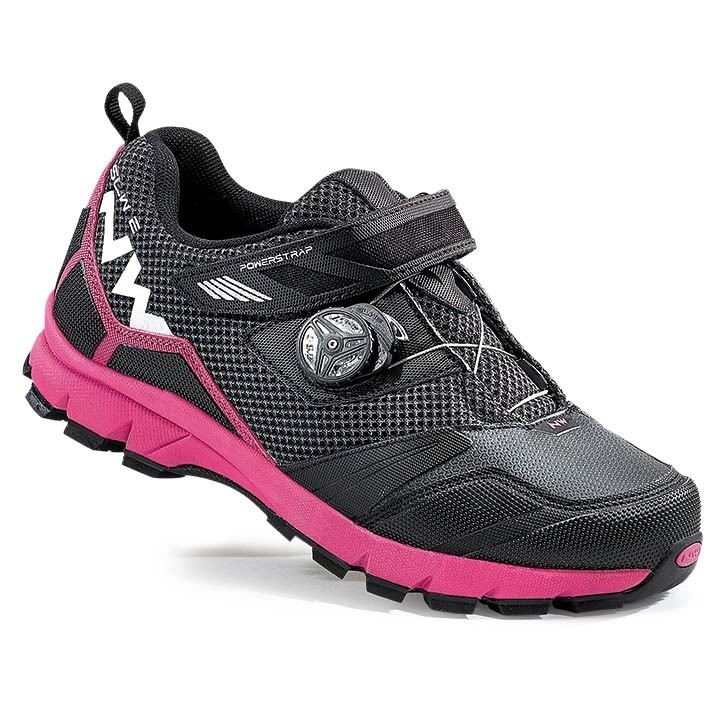2017 Scarpe MTB donna NORTHWAVE Mission Plus nero-fucsia