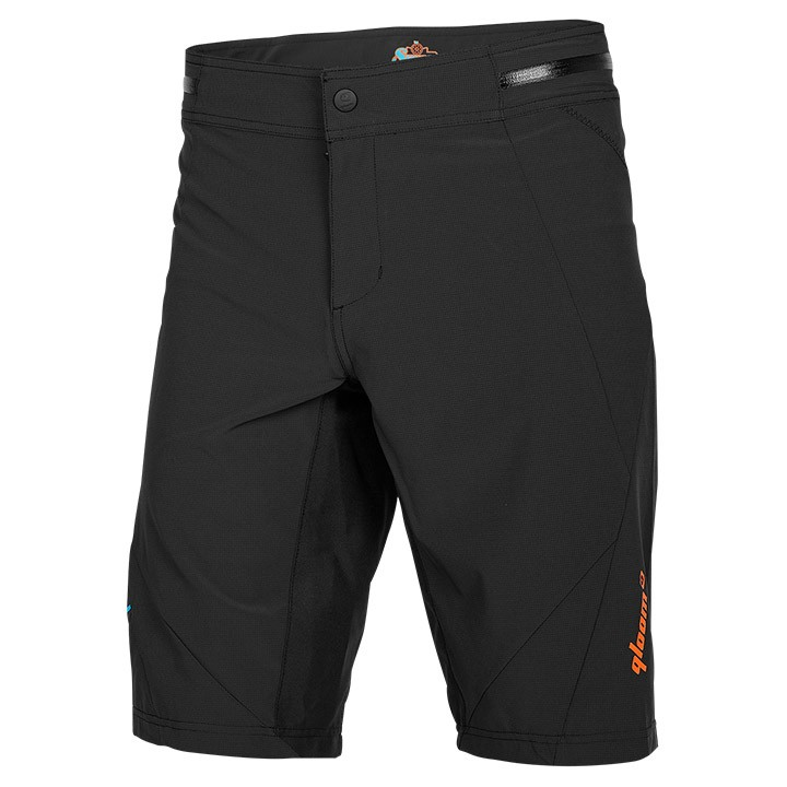 2019 Bikeshort senza fondello QLOOM Crawley nero