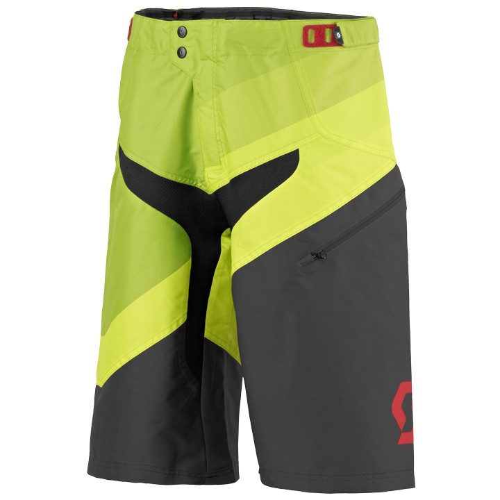 2019 Short Downhill senza fondello SCOTT Progressive verde-nero