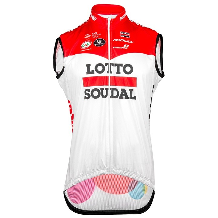 2018 Gilet antivento LOTTO SOUDAL